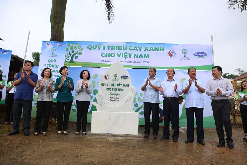 Chương trình đã trồng nhiều cây xanh tại các khu di tích khác nhau tại Bến Tre, Bình Định, Bắc Kạn, Cao Bằng…nhằm góp phần tạo không gian xanh đặc trưng và hấp dẫn cho các khu di tích