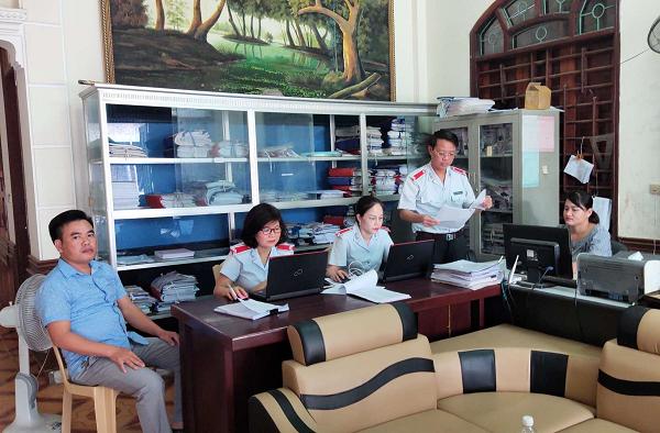 Đoàn thanh tra chuyên ngành về đóng BHXH, BHYT, BHTN của BHXH tỉnh công bố Quyết định thanh tra tại doanh nghiệp nợ BHXH, BHYT, BHTN