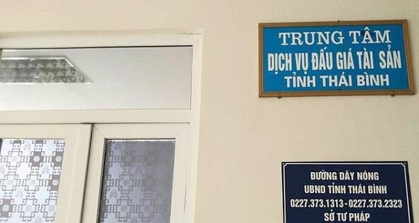 Trung tâm Dịch vụ đấu giá – Sở Tư Pháp Thái Bình nơi đối tượng Nguyễn Thị Ngấn công tác
