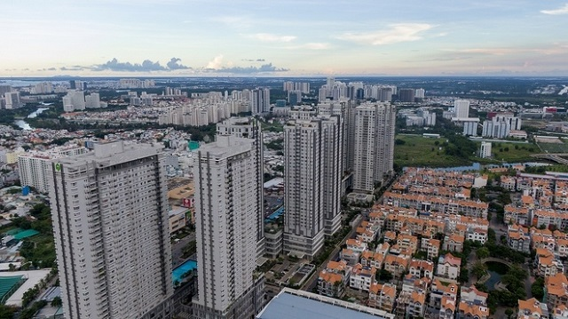 Nhu cầu về nhà ở tại các thành phố lớn như Hà Nội và TP.HCM vẫn cao. Ảnh: Phạm Ngôn.