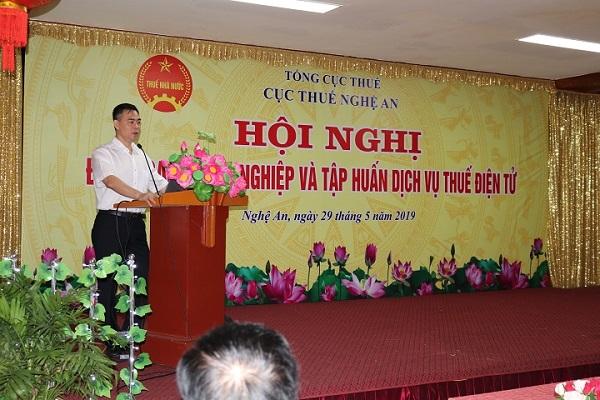 Cục Thuế Nghệ An tổ chức Hội nghị đối thoại với doanh nghiệp