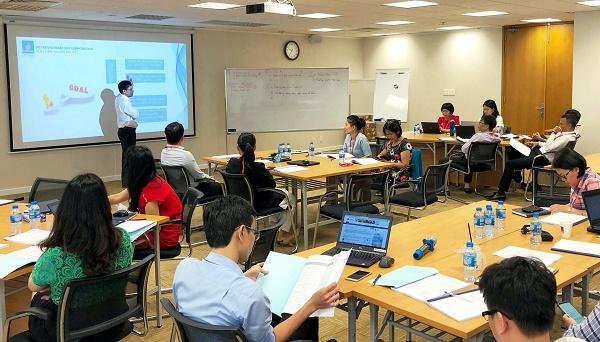 Các lớp đào tạo tại chỗ là một phần công tác phát triển của PV GAS