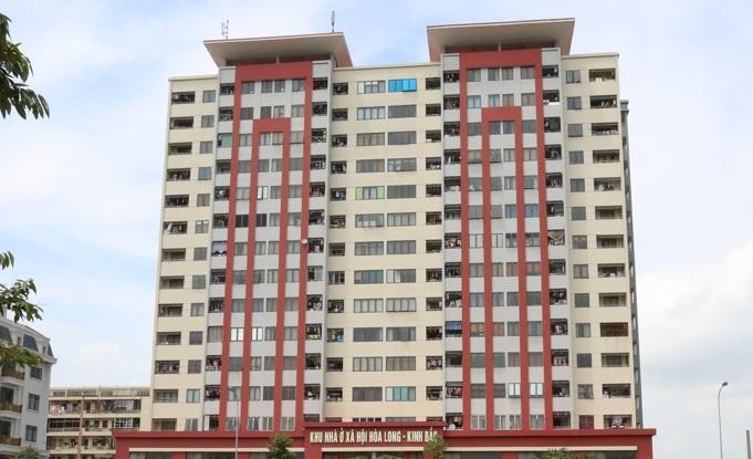 Khu Nhà ở xã hội Hòa Long - Kinh Bắc (Ảnh: bacninh.gov.vn)