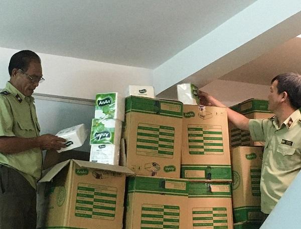 Hàng hóa bị tạm giữ tạm để xử lý