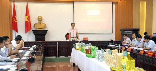 Hội nghị đánh giá phân hạng sản phẩm mỗi xã một sản phẩm (OCOP) đợt 1.