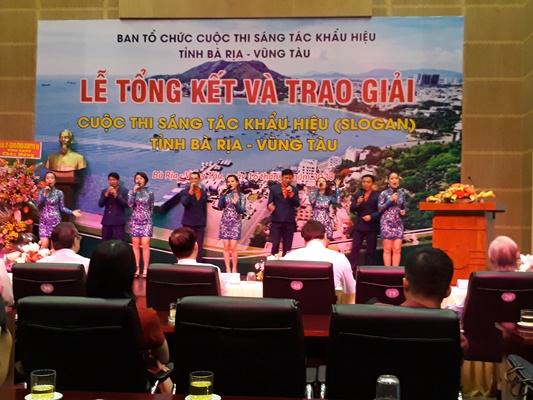 Các tiết mục văn nghệ chào mừng cuộc thi sáng tác slogan tỉnh Bà Rịa Vũng Tàu