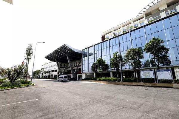 Cở sở 2 Bệnh viện Ung Bướu tại quận 9-TP HCM.