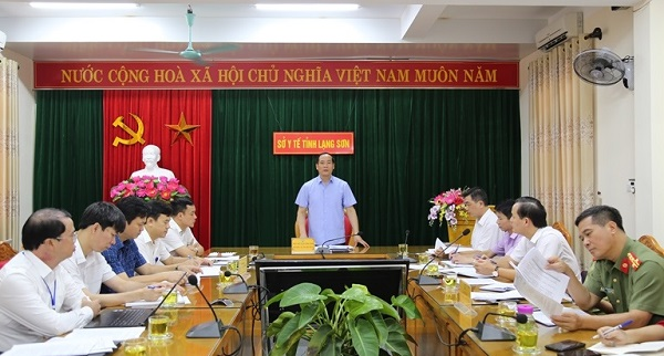 Phó chủ tịch UBND tỉnh, Dương Xuân Huyên phát biểu tại buổi kiểm tra
