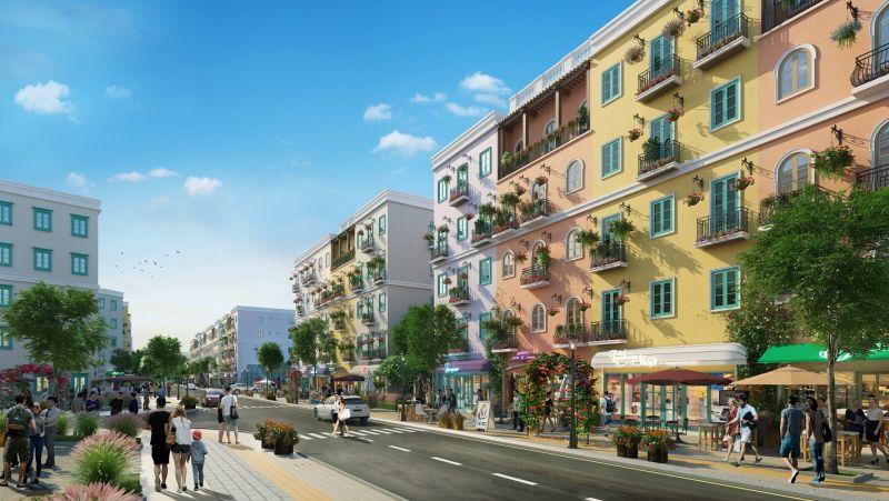 Kiến trúc Sun Grand City New An Thoi mang cảm hứng Địa Trung Hải rực rỡ