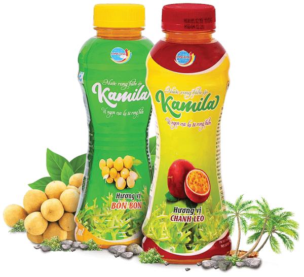 Sản phẩm mới Kamila là đồ uống hữu cơ được sản xuất 100%  từ nguyên liệu tự nhiên