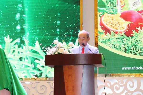 Công ty TNHH Long Hải tổ chức buổi lễ ra mắt 2 sản phẩm nước uống đóng chai không cồn được sản xuất từ nguyên liệu rong biển mang nhãn hiệu Kamila và Catalia