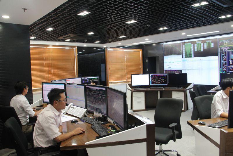 Trung tâm Điều độ Hệ thống điện TP. Hồ Chí Minh  - Ảnh: EVNHCMC