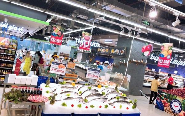 hải sản tiếp tục chiếm lĩnh kệ hàng các siêu thị