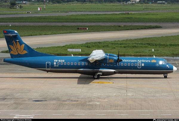 Máy bay ATR-72 trong đội bay của Vietnam Airlines và VASCO. Ảnh: Shotaro Shimizu.