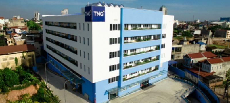 Trụ sở công ty TNG tại Thái Nguyên