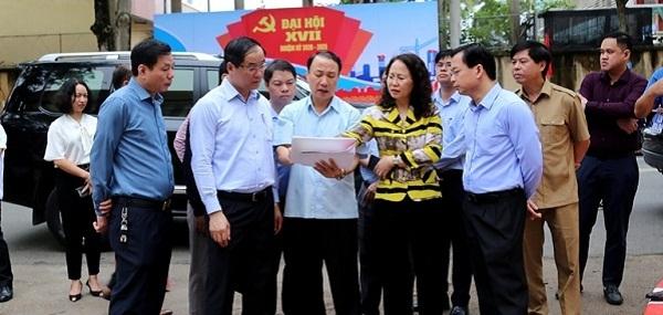 Bí thư Tỉnh ủy Lạng Sơn, Lâm Thị Phương Thanh cùng đoàn công tác kiểm tra công tác chuẩn bị Đại hội tại TP. Lạng Sơn