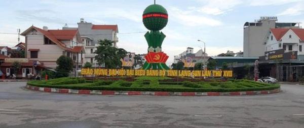 TP. Lạng Sơn rực rỡ cờ, hoa chào mừng Đại hội đại biểu Đảng bộ tỉnh lần thứ XVII, nhiệm kỳ 2020 - 2025