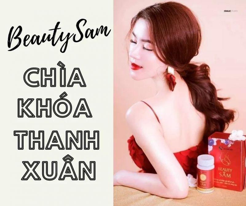 Beauty Sâm là sản phẩm với thành phần chính được chiết xuất từ cây Sa sâm Việt