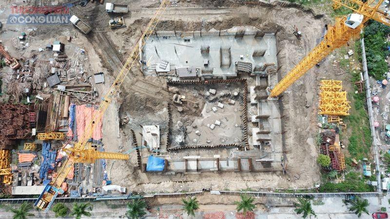 """Mặc dù hạng mục móng của công trình chưa được hoàn thành thế nhưng nhiều họat động """"trá hình"""" huy động vốn mua nhà hình thành trong tương lai của Handico6 tại dự án chung cư Green Diamond Hạ Long?"""