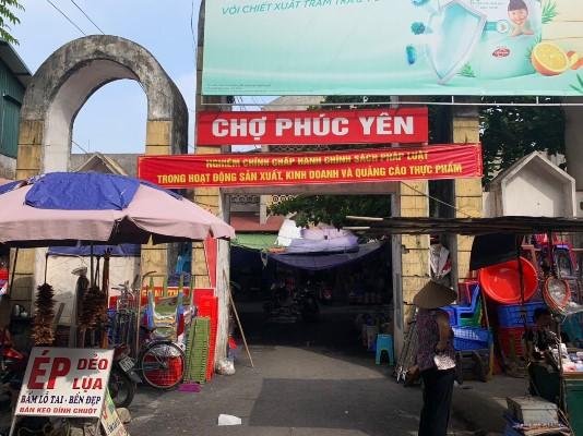 Tăng cường tuyên truyền hoạt động sản xuất, kinh doanh và quảng cáo thực phẩm tại Chợ Vĩnh Yên