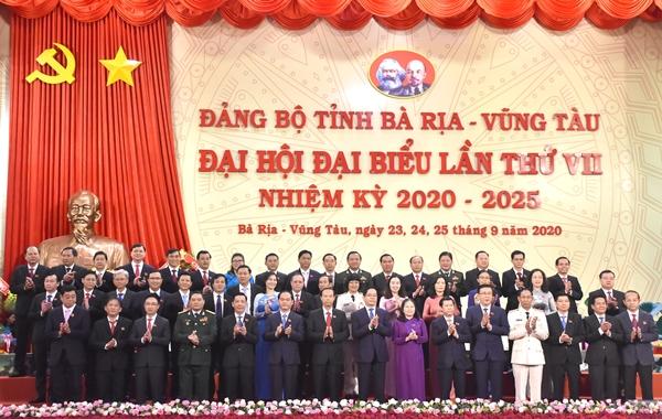 48 ủy viên Ban chấp hành Đảng bộ tỉnh nhiệm kỳ 2020-2025 ra mắt tại Đại hội