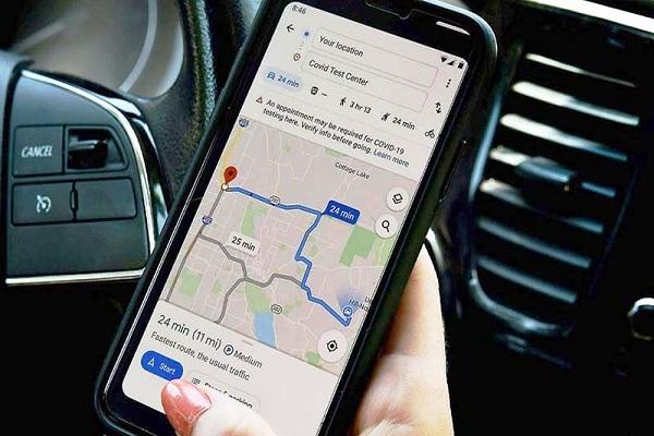 Ứng dụng Google Maps giúp cảnh báo mức độ lây nhiễm của Covid-19