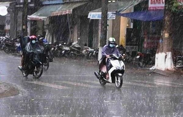 Bắc Bộ mưa giông