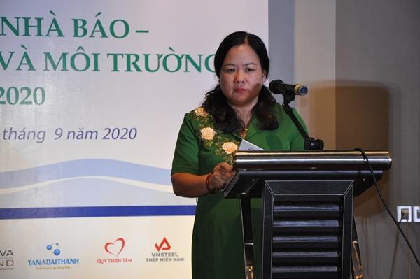 Bà Nguyễn Thị Thu Hoài, Phó Vụ trưởng Vụ Tuyên truyền – Ban Tuyên giáo Trung ương
