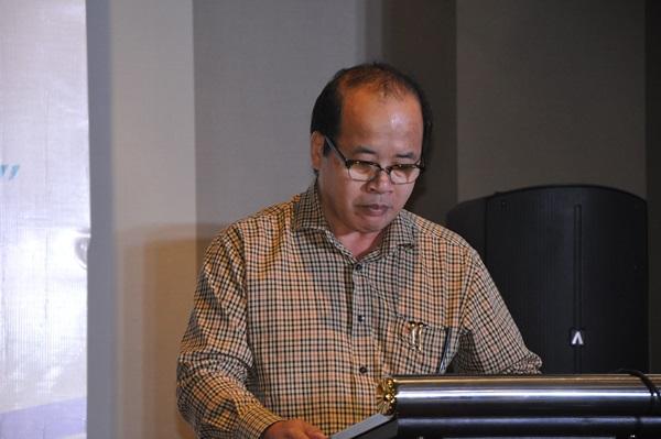 GĐ Sở Tài nguyên và Môi trường Nguyễn Văn Hải phát biểu tại diễn đàn