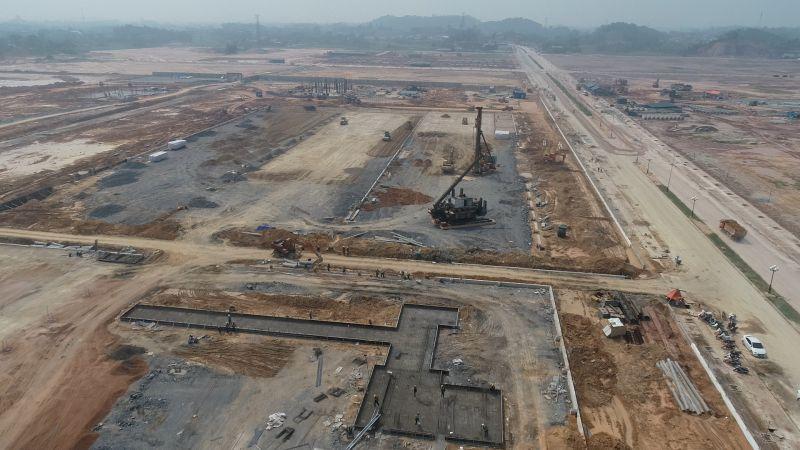 KCN Sông Công 2 quy mô 470 ha đã giải phóng mặt bằng và cơ bản hoàn thành hạ tầng kỹ thuật