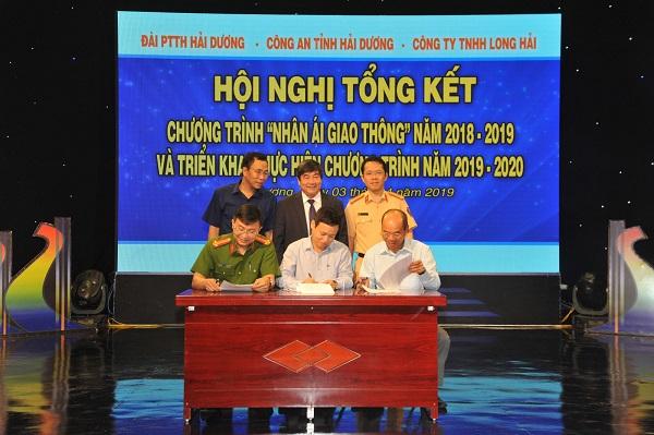 Công ty TNHH Long Hải  tài trợ cho chương trình