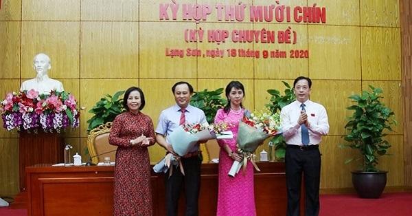Thủ tướng Chính phủ phê chuẩn bầu bổ sung 2 Phó chủ tịch tỉnh Lạng Sơn