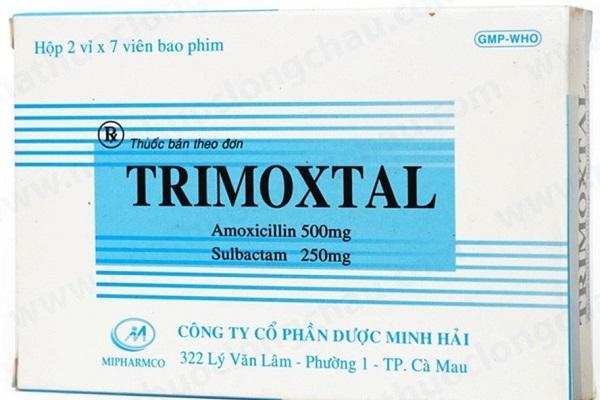 Cục Quản lý dược đề nghị thu hồi thuốc Trimoxtal 500/250 trên toàn quốc (ảnh Minh Họa Nhật Hồ)
