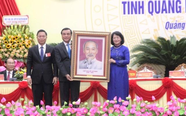 Phó Chủ tịch nước Đặng Thị Ngọc Thịnh dự Đại hội thi đua yêu nước tỉnh Quảng Nam