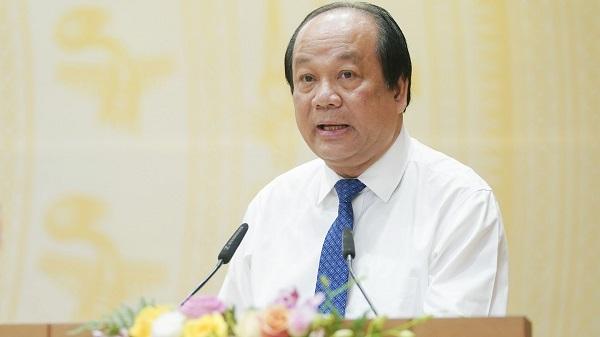 Bộ trưởng, Chủ nhiệm Văn phòng Chính phủ Mai Tiến Dũng chủ trì cuộc họp