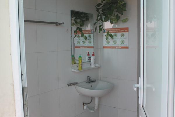 Nhà vệ sinh sạch sẽ, an toàn