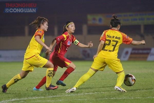 Vòng 3 giải bóng đá nữ Quốc gia Cúp Thái Sơn Bắc 2020 TP HCM 1 giành ngôi đầu bảng