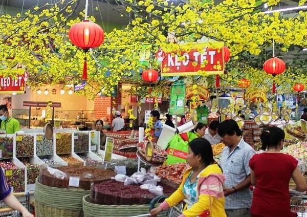 Hà Nội: Bố trí 28 điểm hỗ trợ các tỉnh, thành phố tiêu thụ hàng hóa dịp Tết Nguyên đán  (Ảnh minh họa)