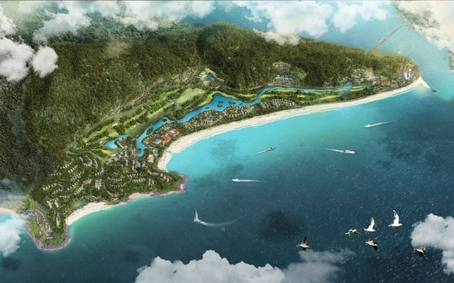 Huế có nhiều tiềm năng để phát triển du lịch nghỉ dưỡng (Minh họa: phối cảnh dự án tại Lộc Bình của Văn Phú – Invest)