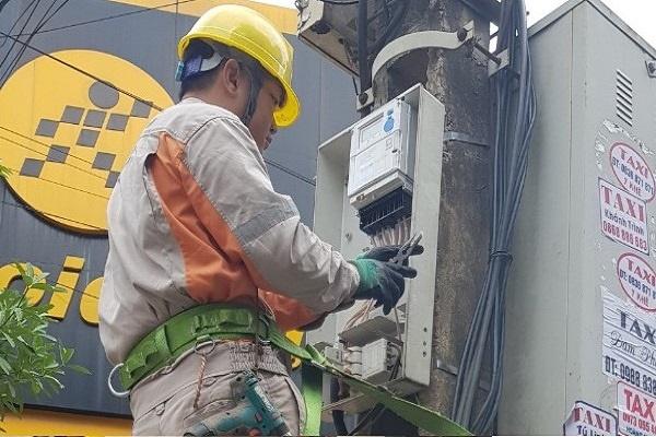 Thay công tơ 3 pha Điện tử tại thị trấn Tràng Định, huyện Tràng Định