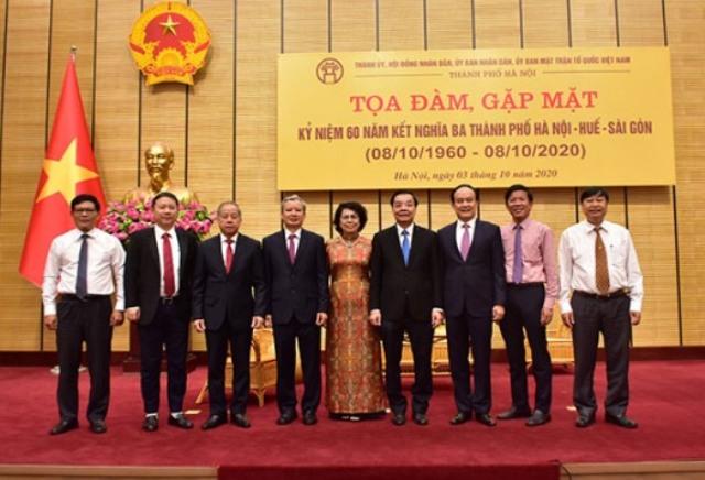 Đoàn đại biểu Hà Nội- Huế- Sài Gòn