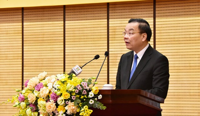 Ông Chu Ngọc Anh- Chủ tịch UBND TP Hà Nội