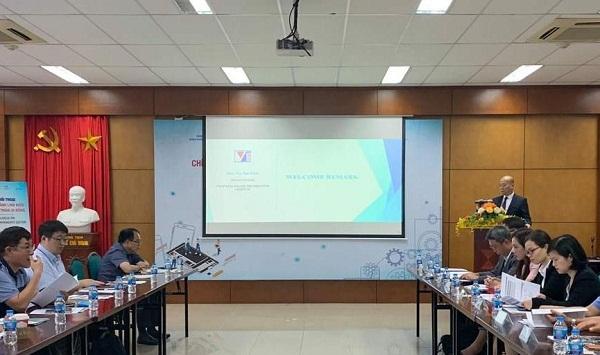 """Cục Xúc tiến thương mại (Bộ Công Thương) đã phối hợp với Cơ quan Xúc tiến Thương mại - Đầu tư Hàn Quốc (KOTRA) tổ chức Tọa đàm """"Chính sách ngành linh kiện, phụ tùng điện thoại di động""""."""