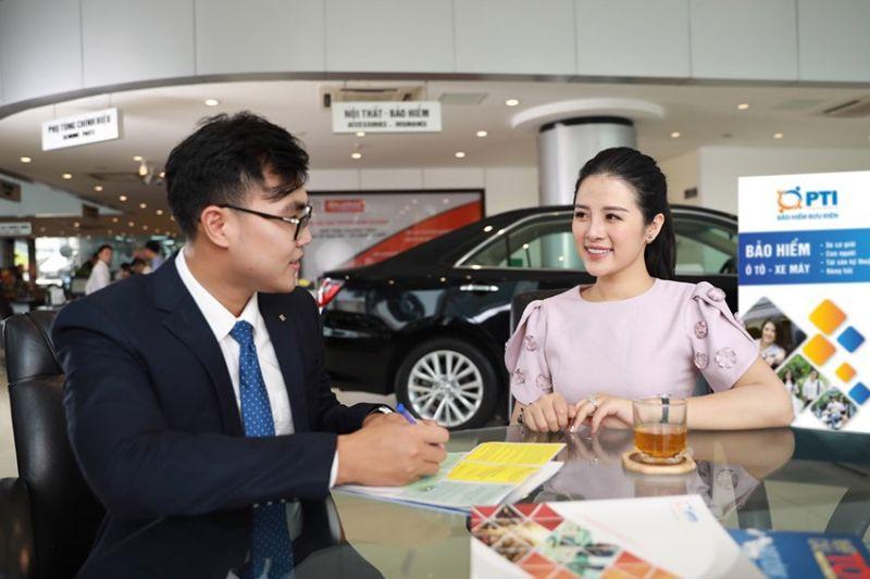 Doanh thu nghiệp vụ bảo hiểm xe cơ giới của PTI hiện đang đứng vị trí số 2 tại Việt Nam