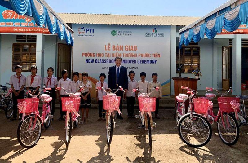 TI trao tặng phòng học tại Bình Phước