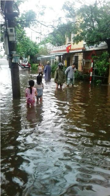 Một con đường ở phường Vỹ Dạ (Huế)