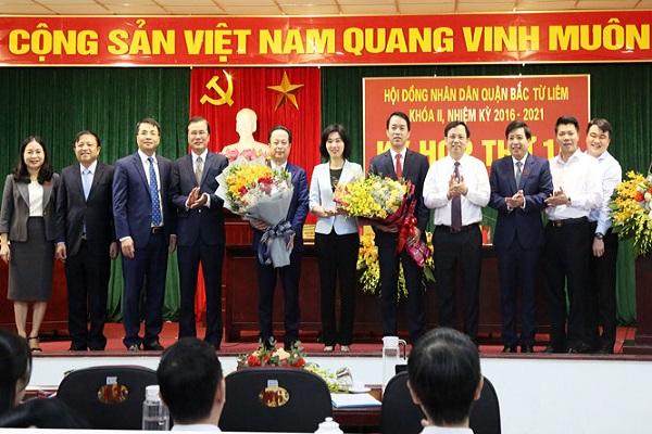 Ông Lưu Ngọc Hà được bầu làm Chủ tịch UBND quận Bắc Từ Liêm