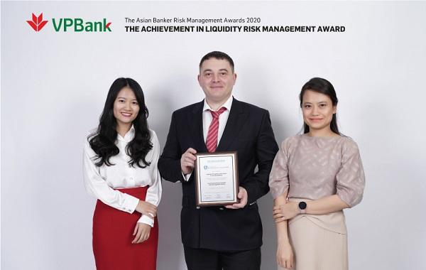 VPBank nhận giải thưởng danh giá của The Asian Banker về quản trị rủi ro (Ảnh minh họa)