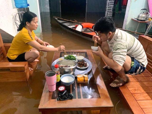 Gia đình chị Nguyễn Thị Hường trong diện chờ giải tỏa ở thôn Trung Sơn , xã Hòa Liên, huyện Hòa Vang, TP. Đà Nẵng