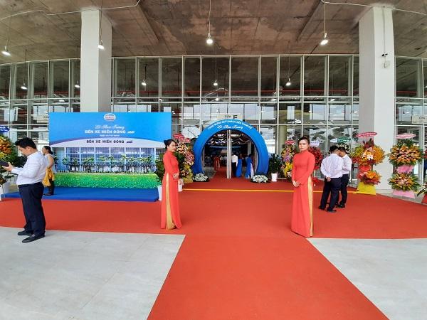 Tổng công ty Cơ khí giao thông vận tải Sài Gòn – TNHH Một thành viên (Tổng Công ty SAMCO) đã phối hợp với Sở GTVT TP.HCM tổ chức lễ khai trương Bến xe Miền Đông mới
